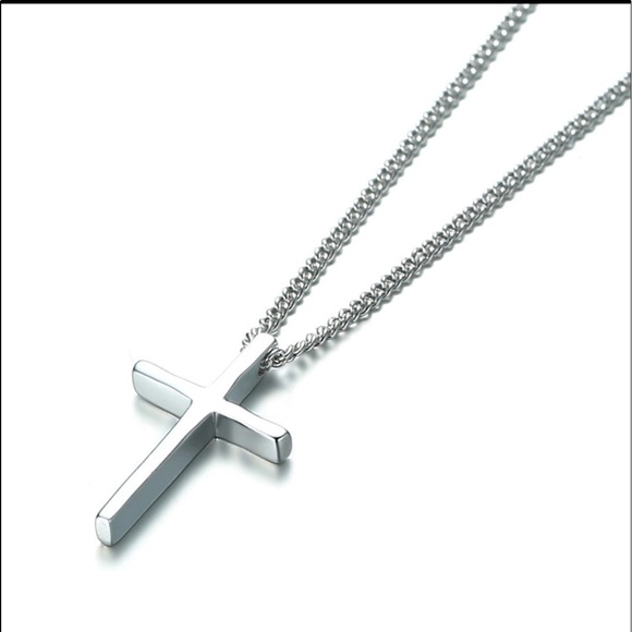 Small 925 Sterling Silver Cross